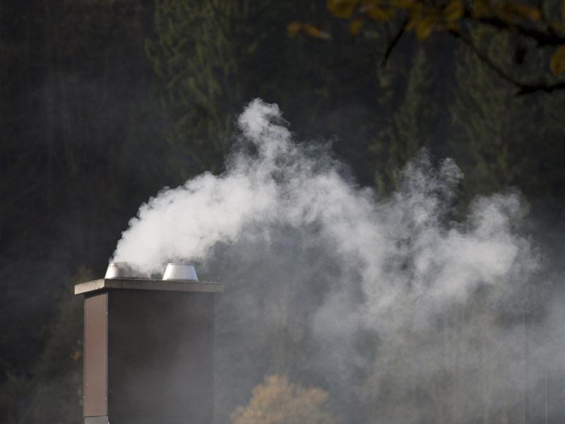 Umweltschutz Rauchentwicklung